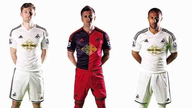 Another questionable kit from Swansea under Adidas, perhaps it's time they looked at a different company.  <b>TOTTENHAM HOTSPUR</b> <b></b>