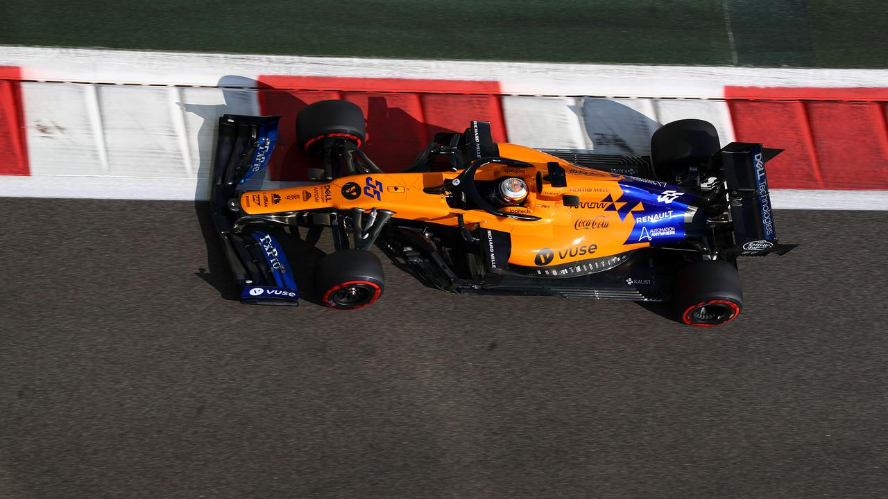 Sainz was outstanding in his maiden McLaren year.