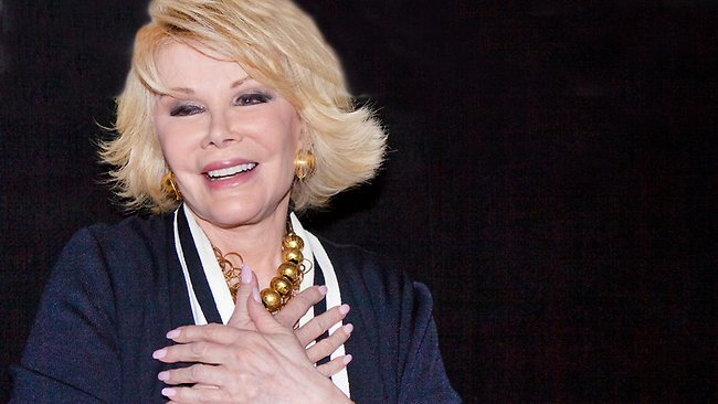 Joan Rivers in 2010. Picture: Splash