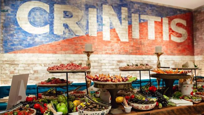 Criniti's has opened branches across Australia with expensive Italian themed fit outs.