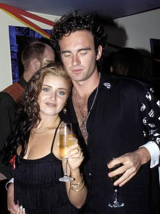 Dannii Minogue was 23 when she married Julian McMahon.