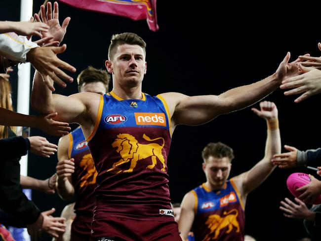 Dayne Zorko leaves the field with his team but will he be with them next week?