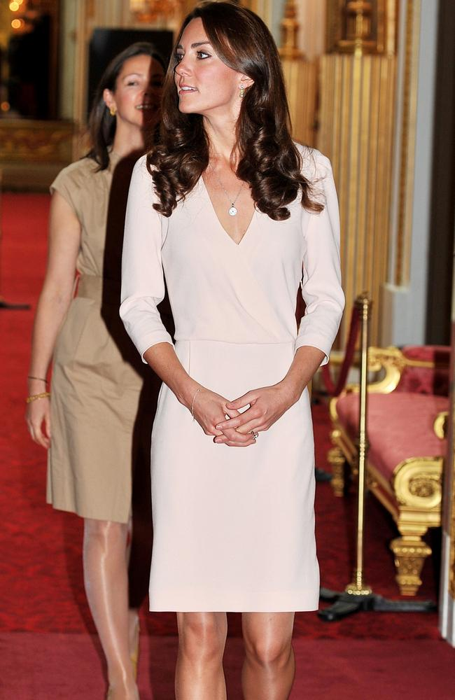 It took the Duchess of Cambridge 10 months to attend a similar event after her marriage to Prince William. Picture: John Stillwell