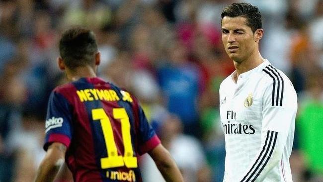 Barcas Neymar And Cristiano Ronaldo