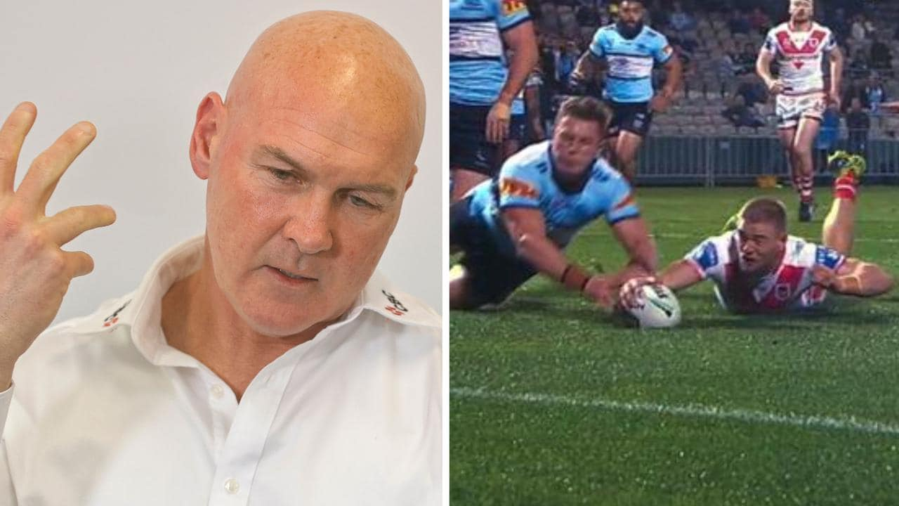 Dragons coach Paul McGregor was filthy at the Jack Williams try decision.