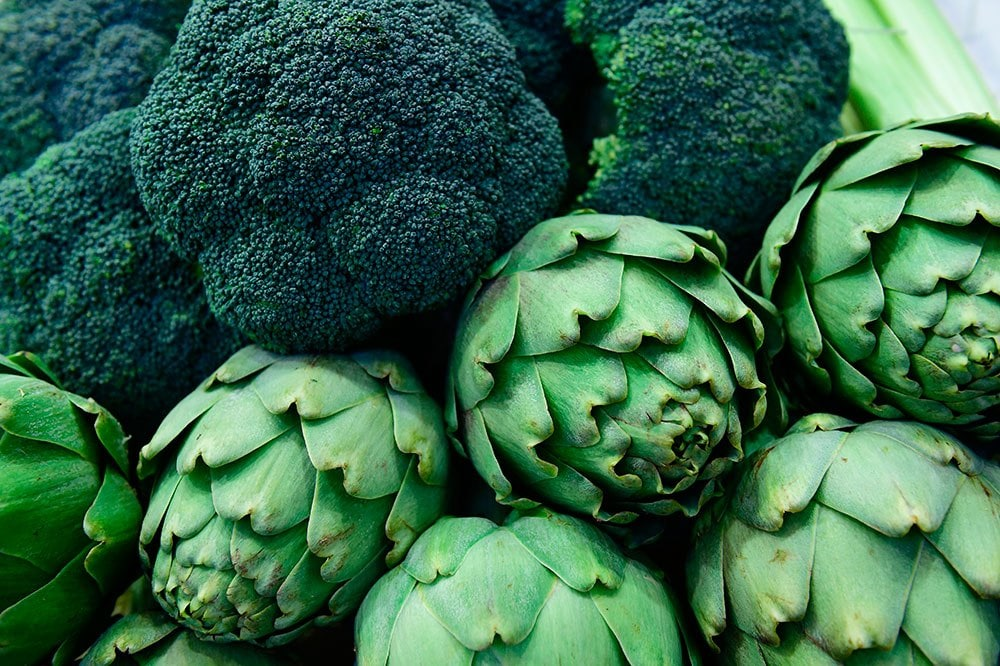 Broccoli is a great food for healthy skin. Image credit: Getty Images