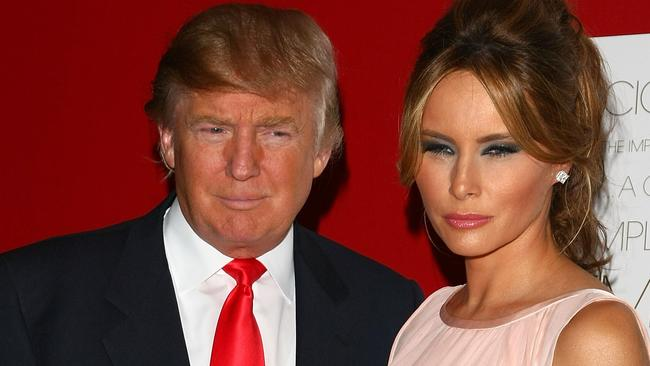 age difference between donald trump and his wife