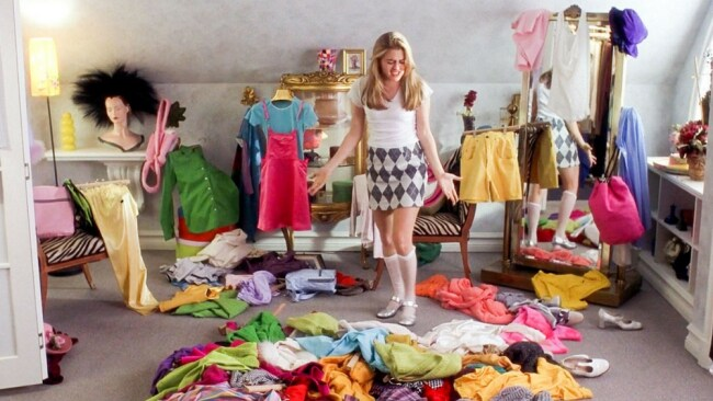 Cher Horowitz: a full-on Monet. Up close, it's a big old mess.