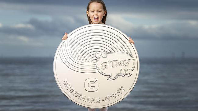 There are 26 $1 Australiana coins to collect, such as G for 'G'Day'. Picture: Daniel Pockett/Getty Images.