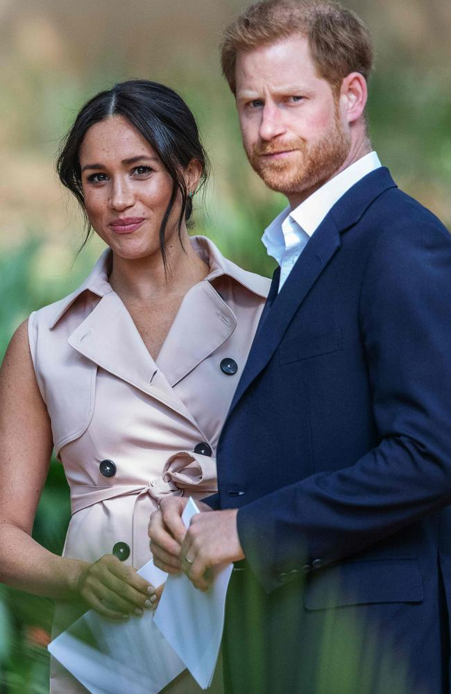 Prince Harry and Meghan have ditched royal life for a fresh start in Canada. Picture: AFP