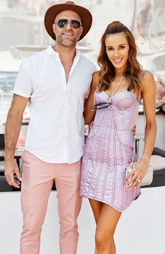 Chris and Bec Judd. Picture: Instagram