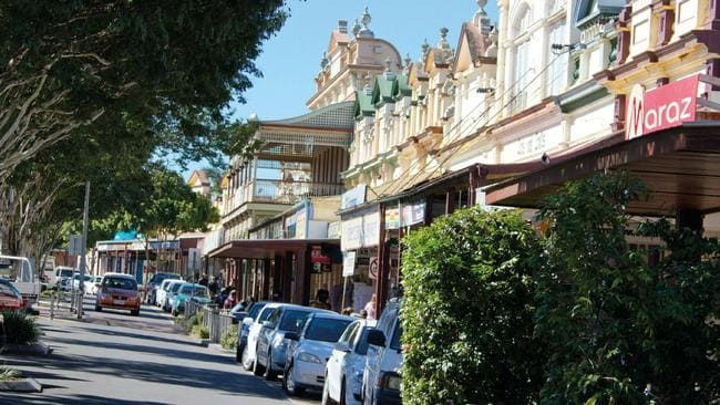 The main street of Bundaberg, which is seeing strong home sales. Picture: Tourism Queensland.