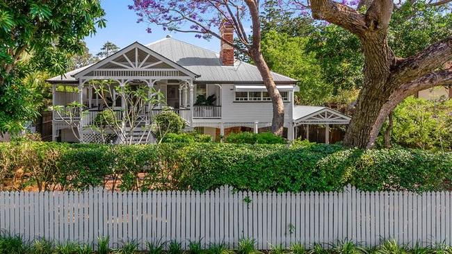 This historic home at 76 Jarrott St, Chelmer, is scheduled for auction this month.