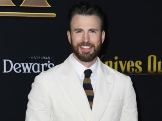 Chris Evans wants to share more of his dog with the world. We'll allow it. Image: Getty