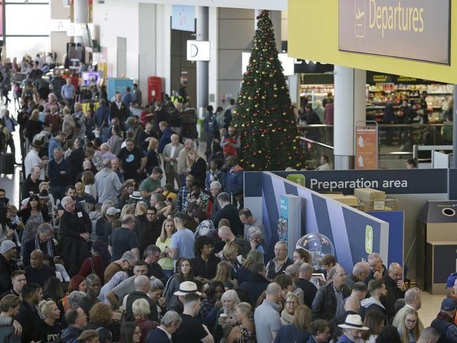Gatwick handles 45 million passengers a year. Picture: AP
