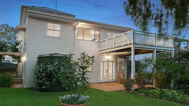 This house at 136 Stoneleigh St, Lutwyche, is for sale.
