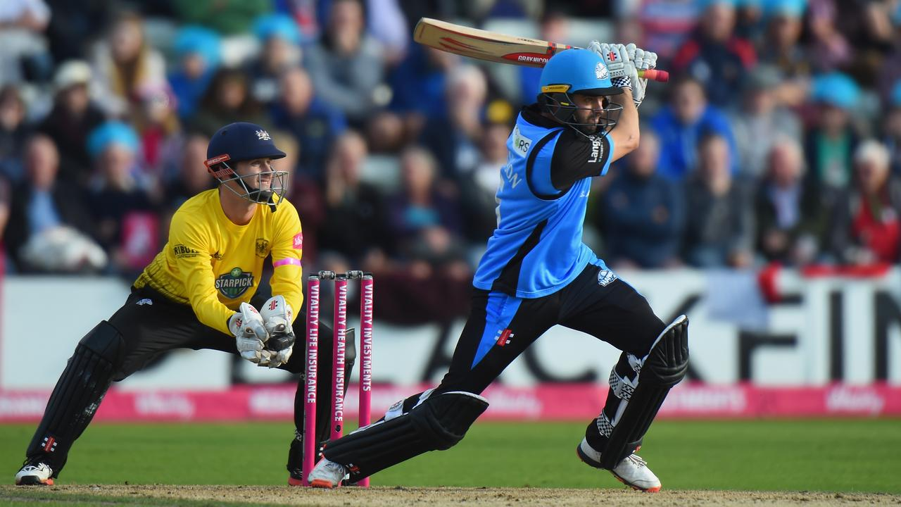 Adelaide-born Callum Ferguson sent his Worcestershire side into the semi-finals of the Vitality Blast on the weekend.