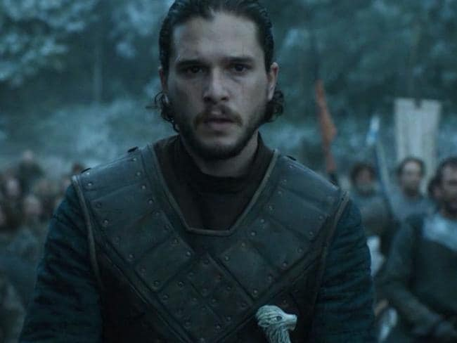 Winter is coming, Jon Snow. Picture: HBO