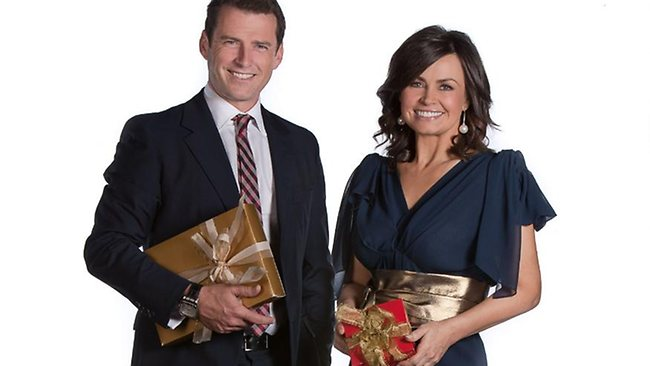 Today breakfast hosts Karl Stefanovic and Lisa Wilkinson turn into night owls to front the Carols By Candlelight telecast. Picture: Supplied