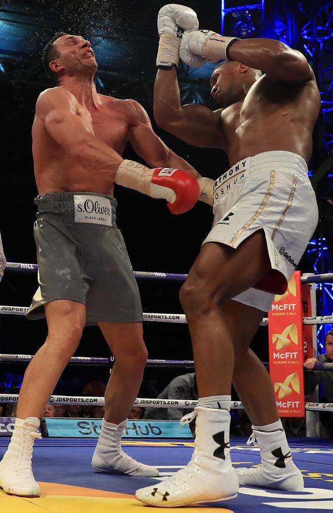Anthony Joshua vs Wladimir Klitschko: The Ukraine icon's final fight.