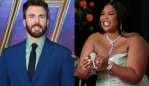 Lizzo drunkenly slid into Chris Evans' DMs and girl, same. Image: Getty