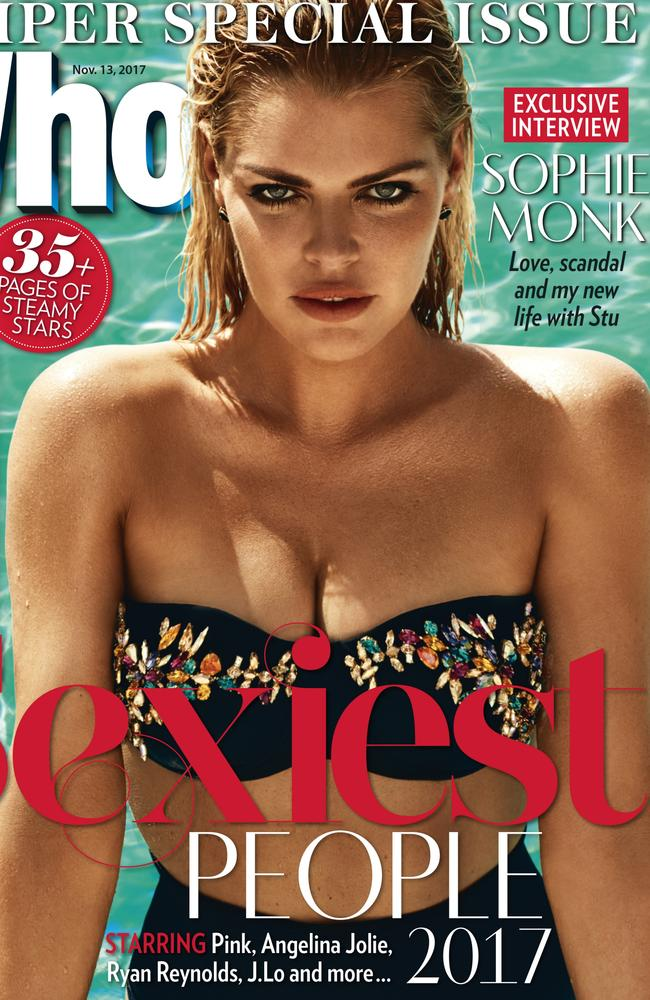 Sophie Monk sizzles on the cover of WHO's Sexiest People issue.