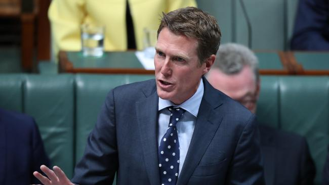 Attorney-General Christian Porter. Picture Gary Ramage