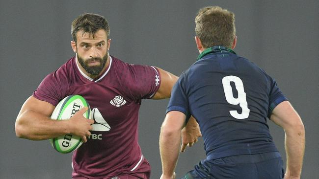 Georgia's David Kacharava will be hoping to show the improvement in his country's rugby at the World Cup. Picture: Levan Verdzeuli/Getty Images