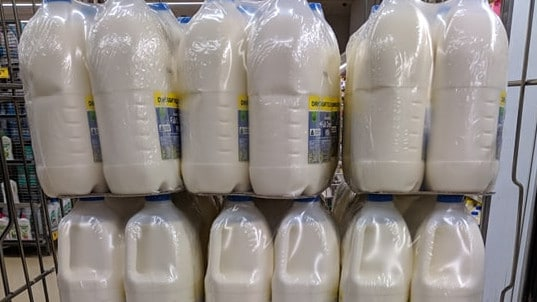 Woolworths customers outraged after seeing milk bottles