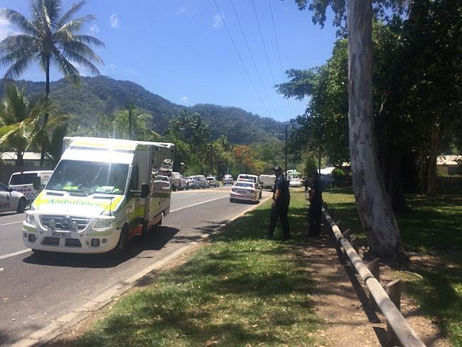 Neighbours speak about Cairns stabbing deaths