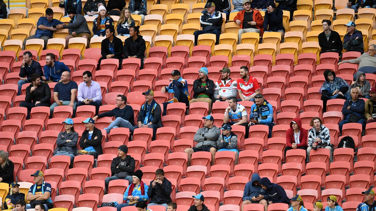 The Queensland government has increased crowd capacity to 10,000 (AAP Image/Dan Peled).