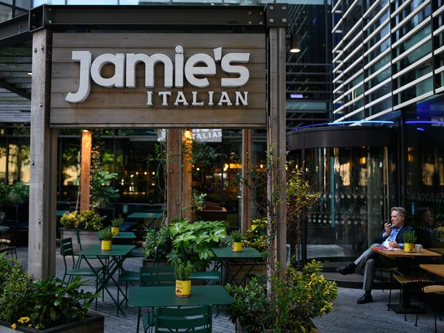 Jamie's Italian restaurant near London Bridge in London. More than 1000 jobs will be lost. Picture: Getty