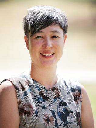 Greens MP for Newtown Jenny Leong Headshot.