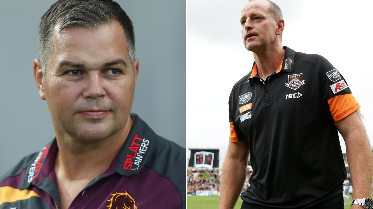 Anthony Seibold has denied white-anting Michael Maguire while the pair were at South Sydney.