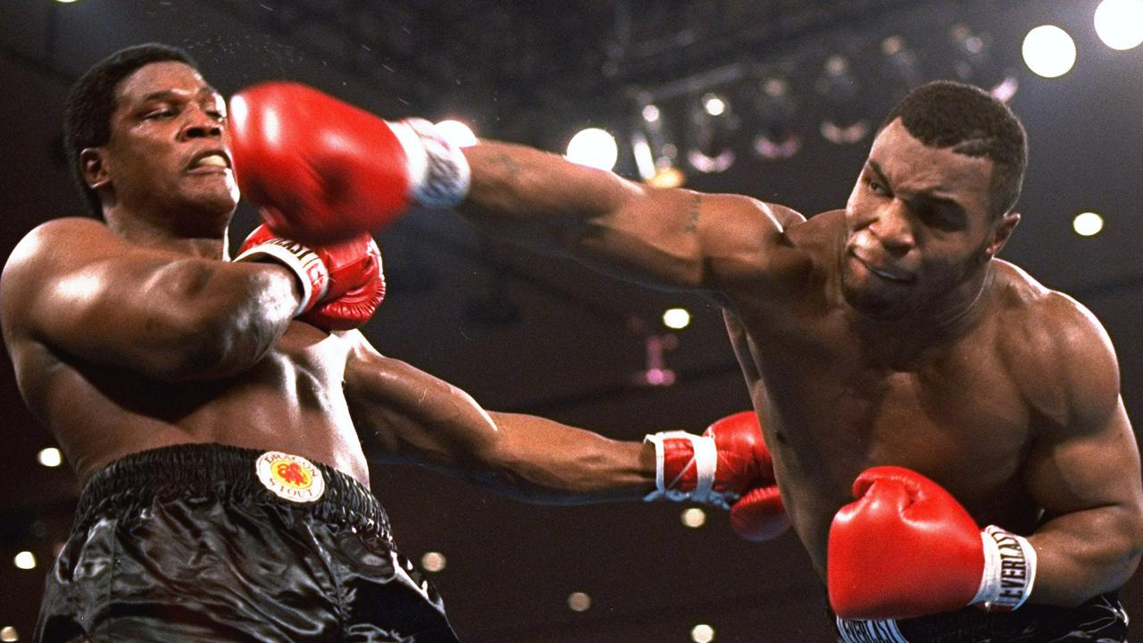 Mike Tyson was terrifying in his heyday.