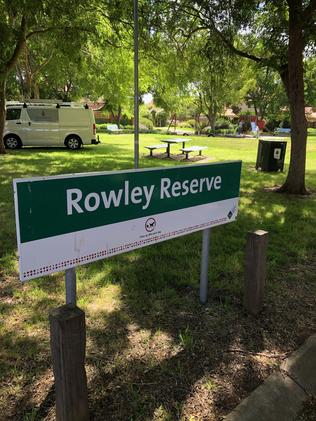 Part of the housing development on the previous Rowley Park soccer ground is dedicated to a reserve. Picture: Ian Syson