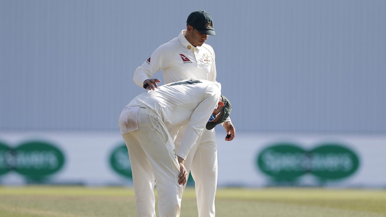 Cricket Australia The Test On Amazon Prime Ashes Headingley Test Tim Paine Vs Justin Langer Team Meeting Fox Sports