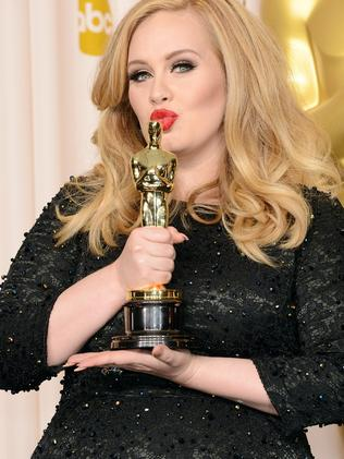 "Lagerfeld called Adele, ""too fat"". Picture: Getty"