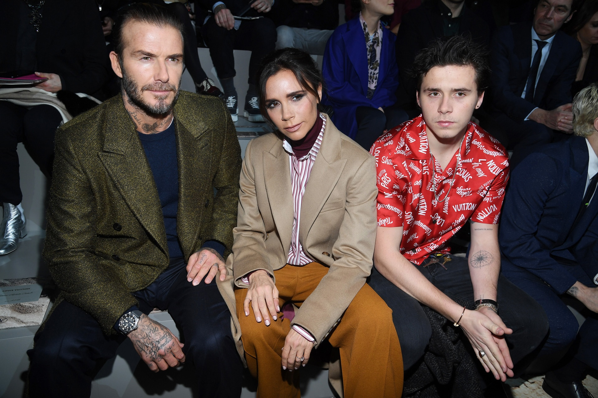 Brooklyn Beckham's new tattoo is an ode to Victoria Beckham