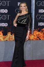 """British actress Natalie Dormer arrives for the """"Game of Thrones"""" eighth and final season premiere at Radio City Music Hall on April 3, 2019 in New York city. (Photo by Angela Weiss / AFP)"""