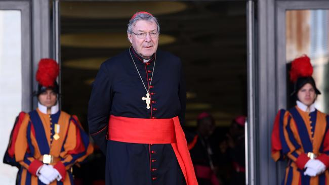 Cardinal George Pell in 2012 in Vatican City, Vatican. Picture: Franco Origlia/Getty Images