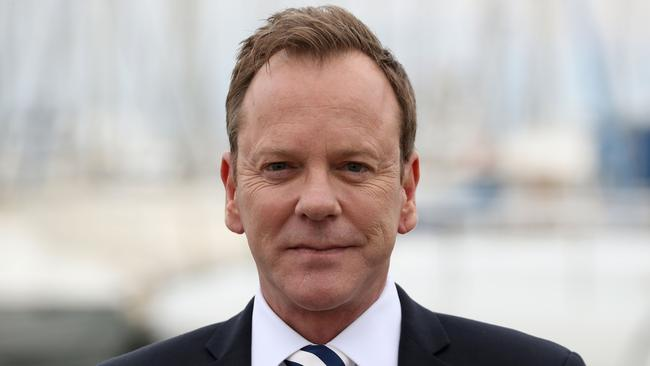 Kiefer Sutherland. Picture: AFP Photo / Valery Hache