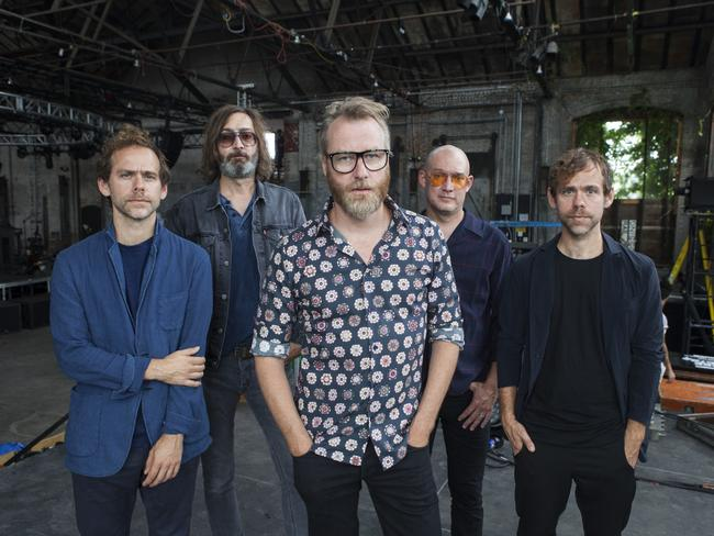 Marriage and political upheaval informs The National's seventh album. Picture: Graham MacIndoe / Supplied.