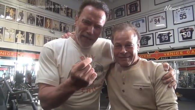Arnold Schwarzenegger and Franco Columbu celebrate over 50 years of friendship