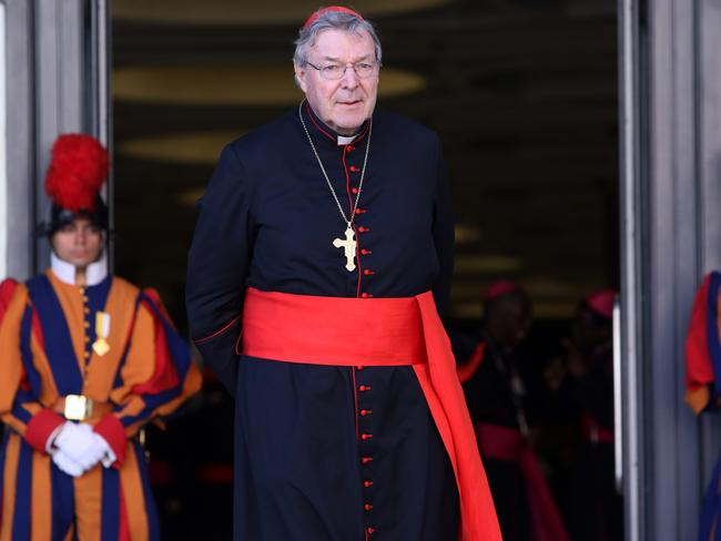 It's unlikely Cardinal Pell will be able to return to the Vatican. Picture: Franco Origlia/Getty Images