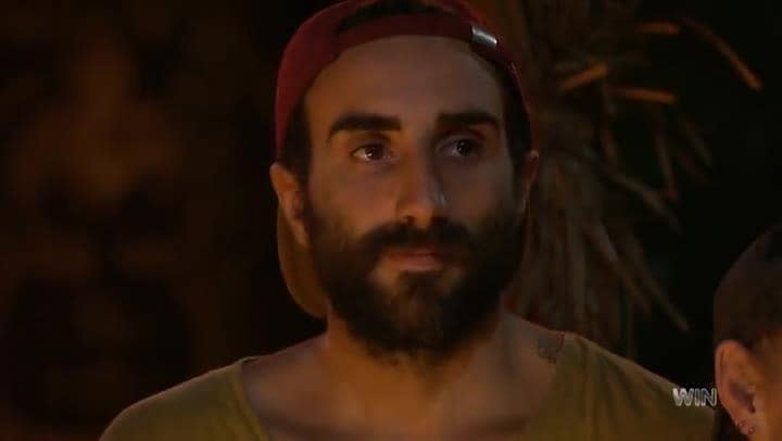Nick is voted out of Australian Survivor