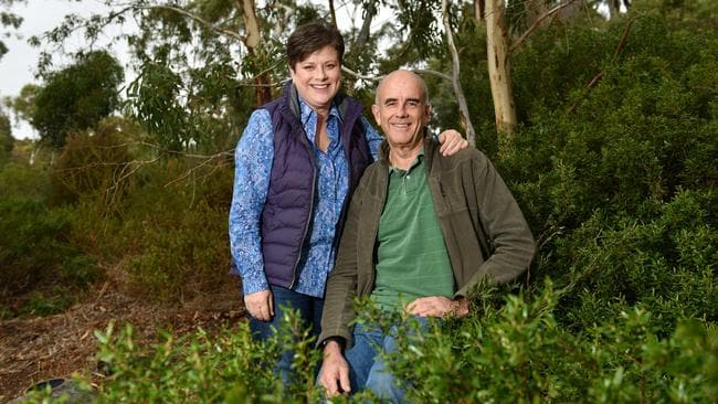 Ian and Rebecca Peters believe the environment is more important than retiree tax changes. Picture: Keryn Stevens/AAP