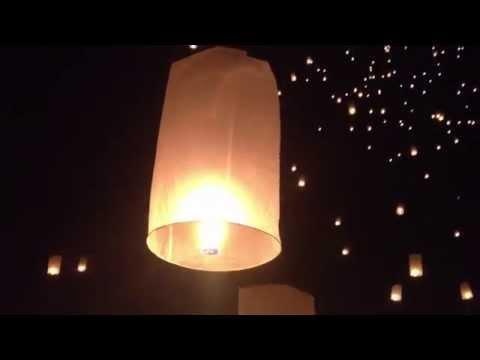 FILM: Festival of Fire Lanterns in Thailand Looks Beautiful July 24