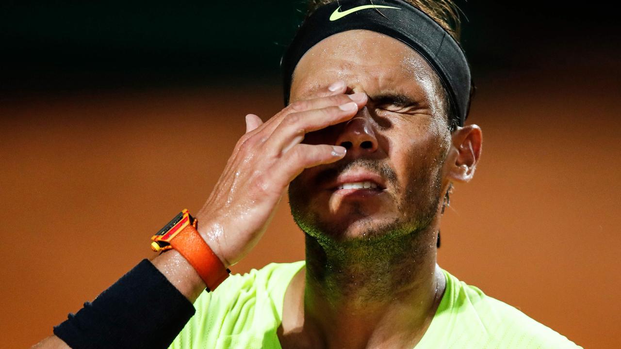 Tennis News 2020 Rafael Nadal Novak Djokovic Anger Rome Italian Open Results Scores Highlights French Open Fox Sports