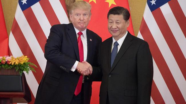 Our job is to keep Donald Trump's notoriously fickle mind focused on Asia and the ­Pacific as China, under the leadership of Xi Jinping, wields its power. Picture: AFP